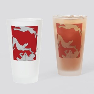 3WeimsRedTrans Drinking Glass
